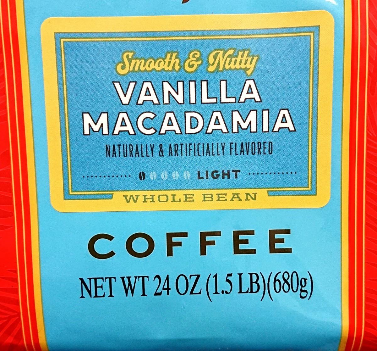 【豆】ライオン コーヒー バニラマカダミア 680g