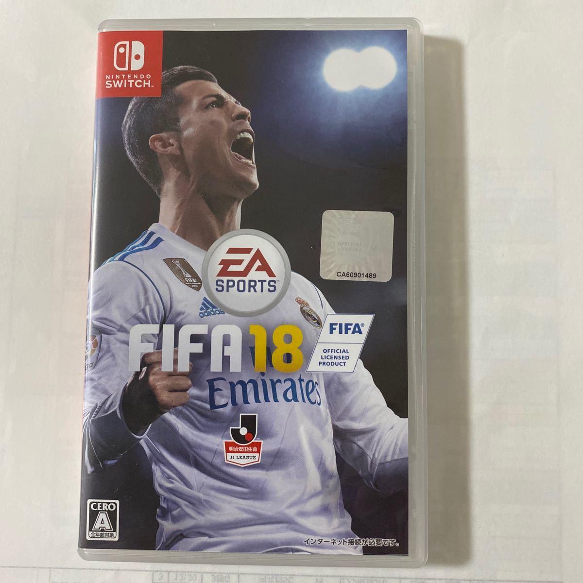 【Switch】 FIFA 18 ニンテンドースイッチソフト サッカーゲーム