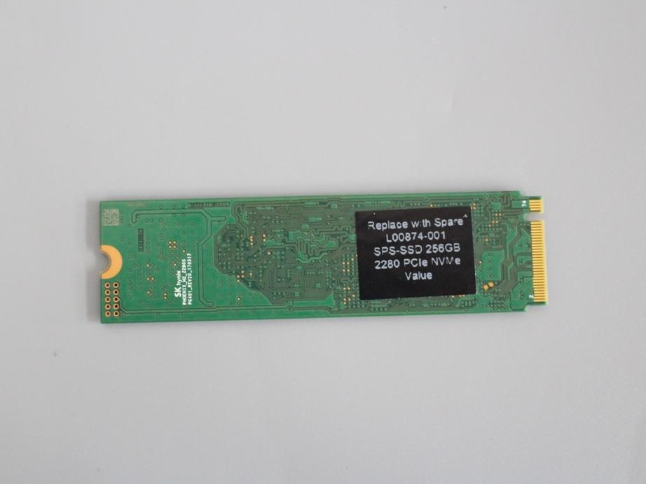 ●送料無料 累計使用時間486H hynix HFS256GD9TNG■M.2 NVMe 256GB SSD 2280動作確認済み