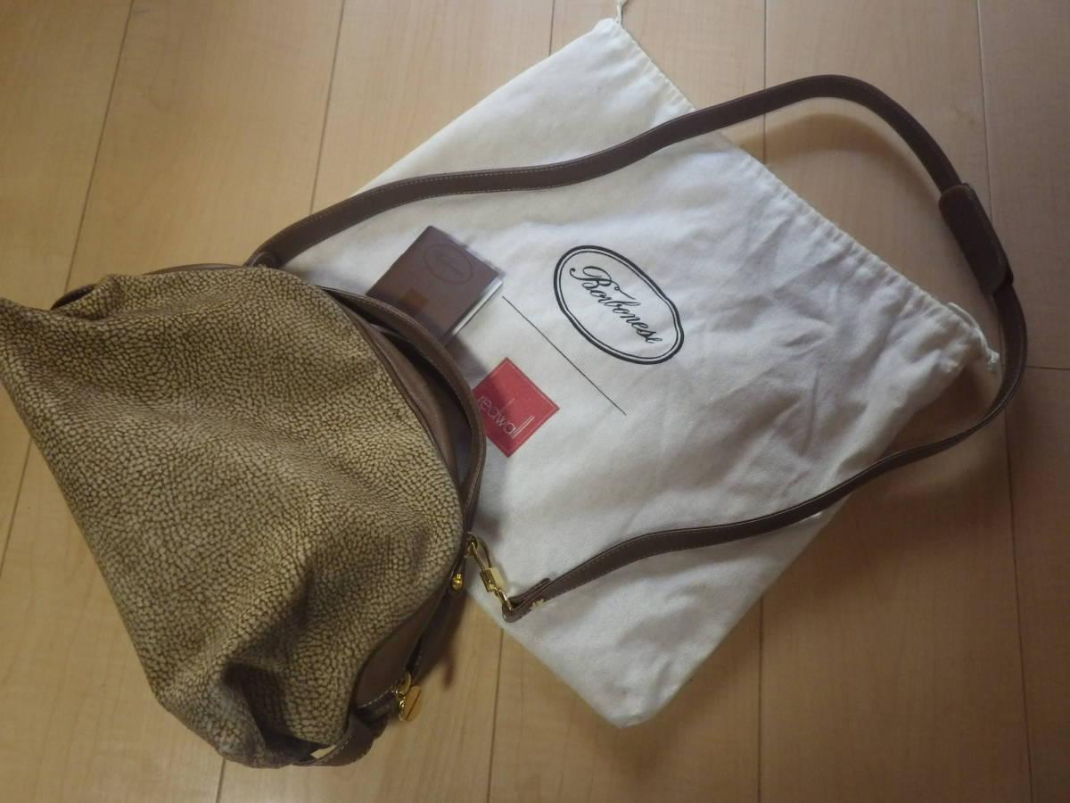 ボルボネーゼ ショルダーバッグ うずら柄 定形外710円_画像1
