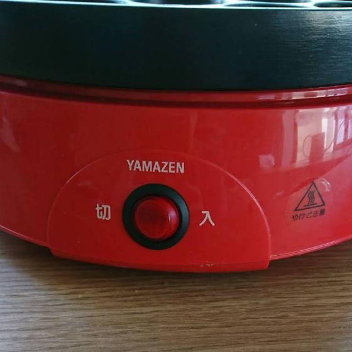 YAMAZEN OP-6518-Rcolor たこ焼き器