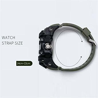 ★今月のご奉仕価格★腕時計 メンズ SMAEL腕時計 メンズウォッチ 防水 スポーツウォッチ アナログ表示 デジタル クオーツ腕_画像2