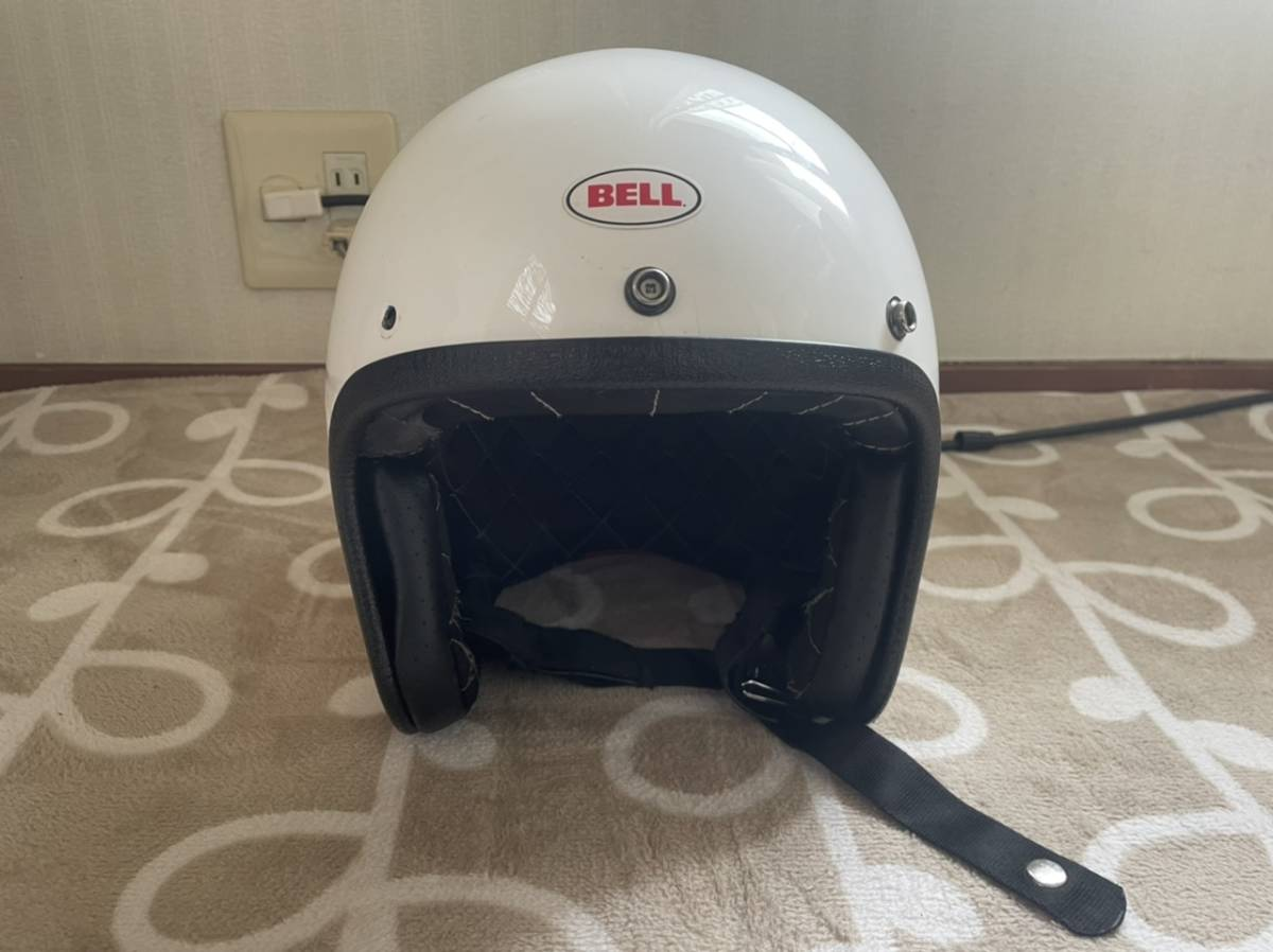 当時物bell ヘルメット カスタム500ジェットヘルメットxxl