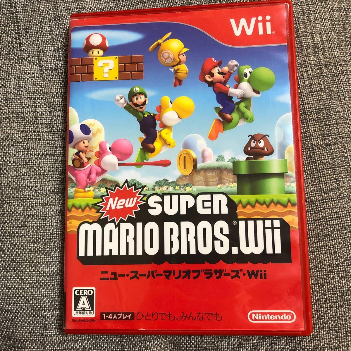 Wii  ニュースーパーマリオブラザーズ Wiiソフト