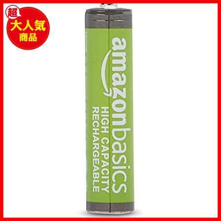 Amazonベーシック 充電池 高容量充電式ニッケル水素電池単4形8個セット (充電済み、最小容量 800mAh、約500回使用可能)_画像2