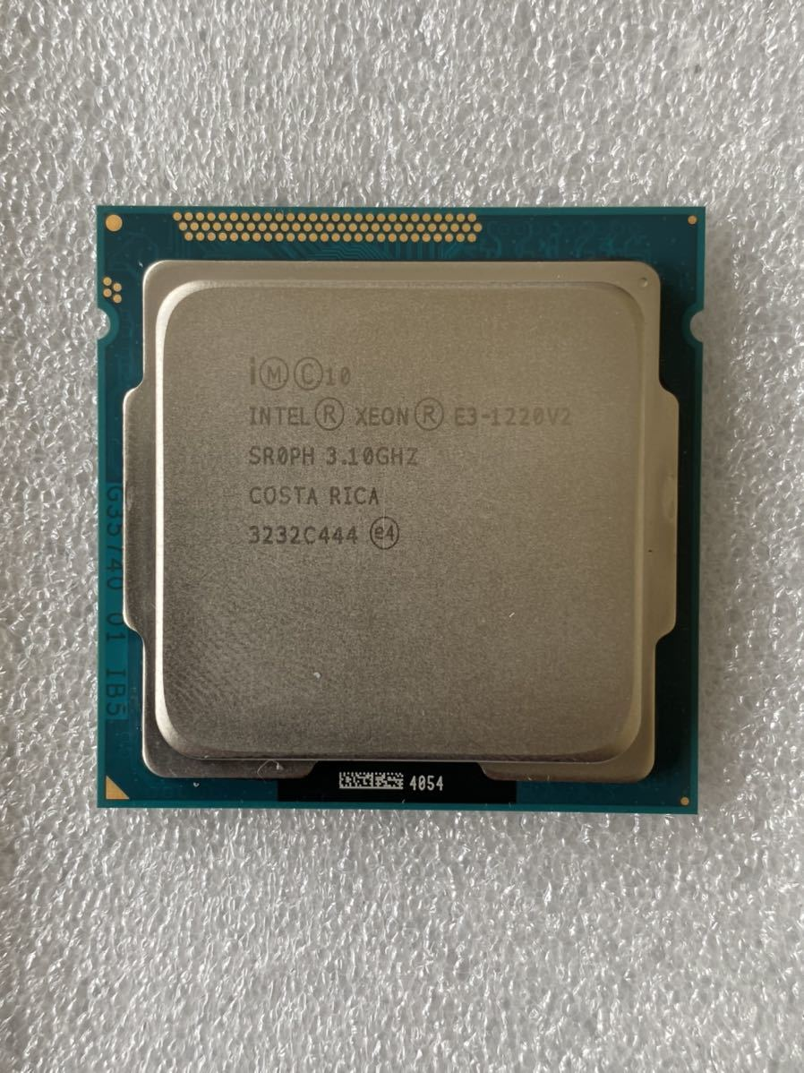 《中古》Intel Xeon E3-1220V2 3.30GHz SR0PH CPU_画像1