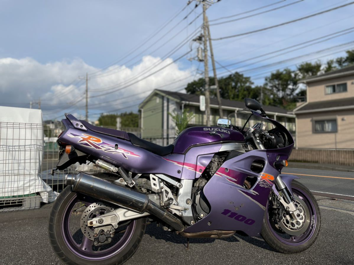 「★☆即決!GSX-R1100 2.1万km!ノーマル絶好調格安!GU75A GSXR1100 1000☆★」の画像3