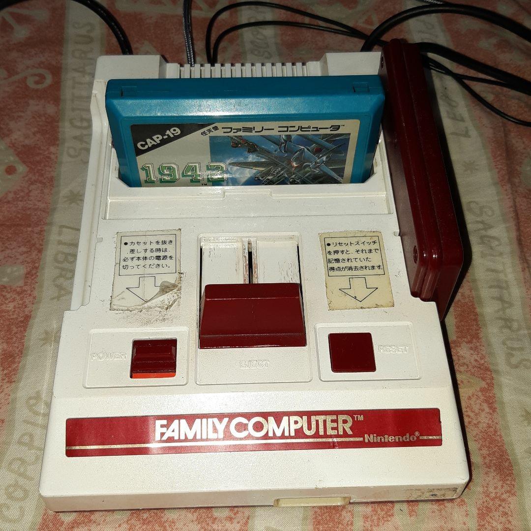 ファミコンソフト 1942  カプコン