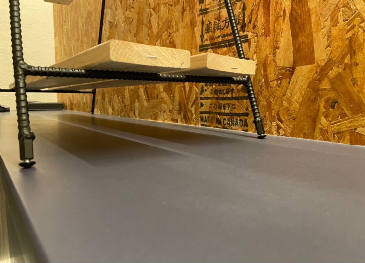 45 アイアンテーブル アイアンラック アイアンシェルフ 作業台 鉄脚 アウトドア キャンプ アイアンレッグ