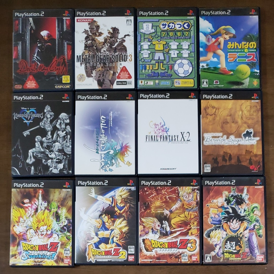PS2ソフト15本セット