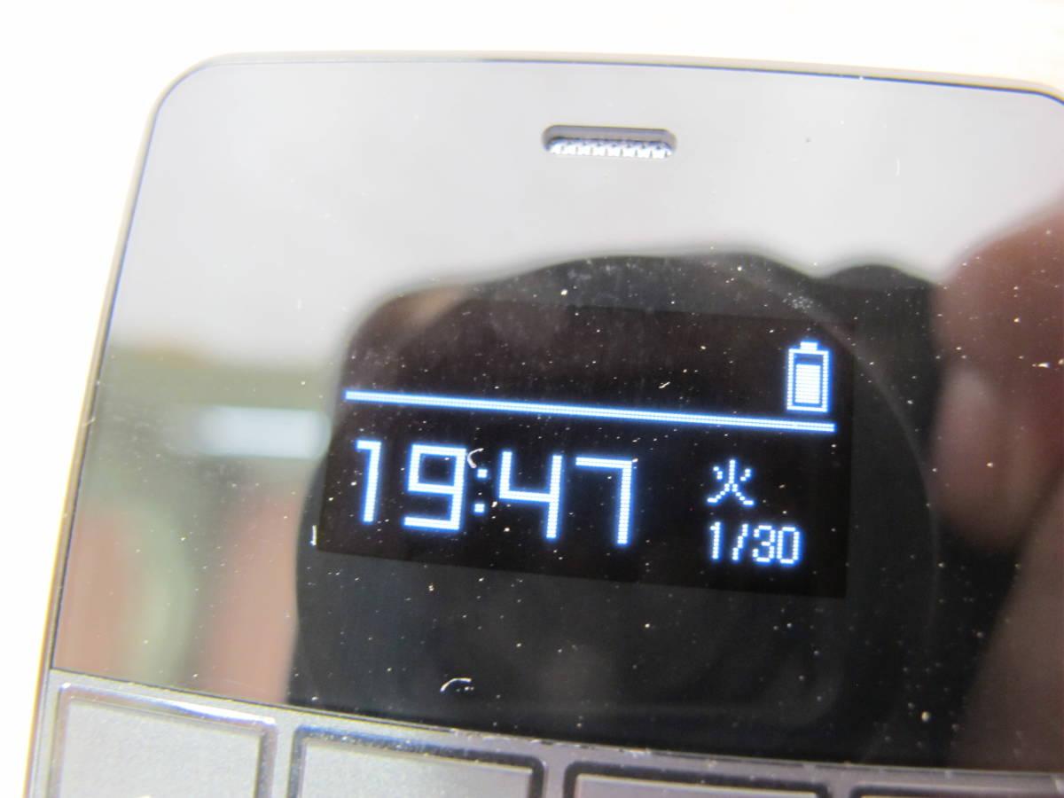 ◎ジャンク フューチャーモデル㈱ NichePhone-S/ニッチフォンS MOB-N18-01-BK ブラック 4G 通電のみ動確 SIMフリー携帯電話 @送料520円_画像3