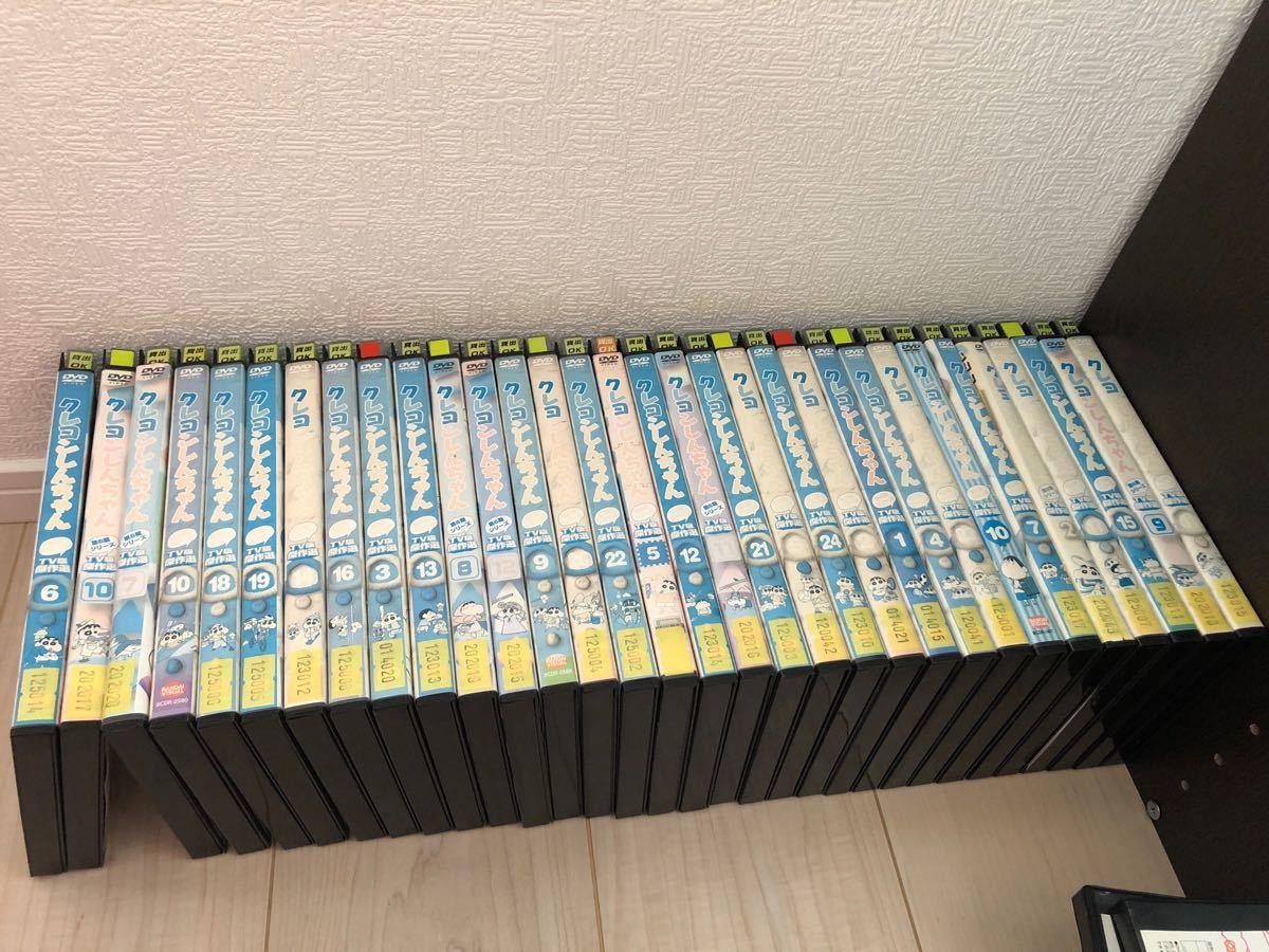 クレヨンしんちゃん DVD レンタル落ち 大量セット