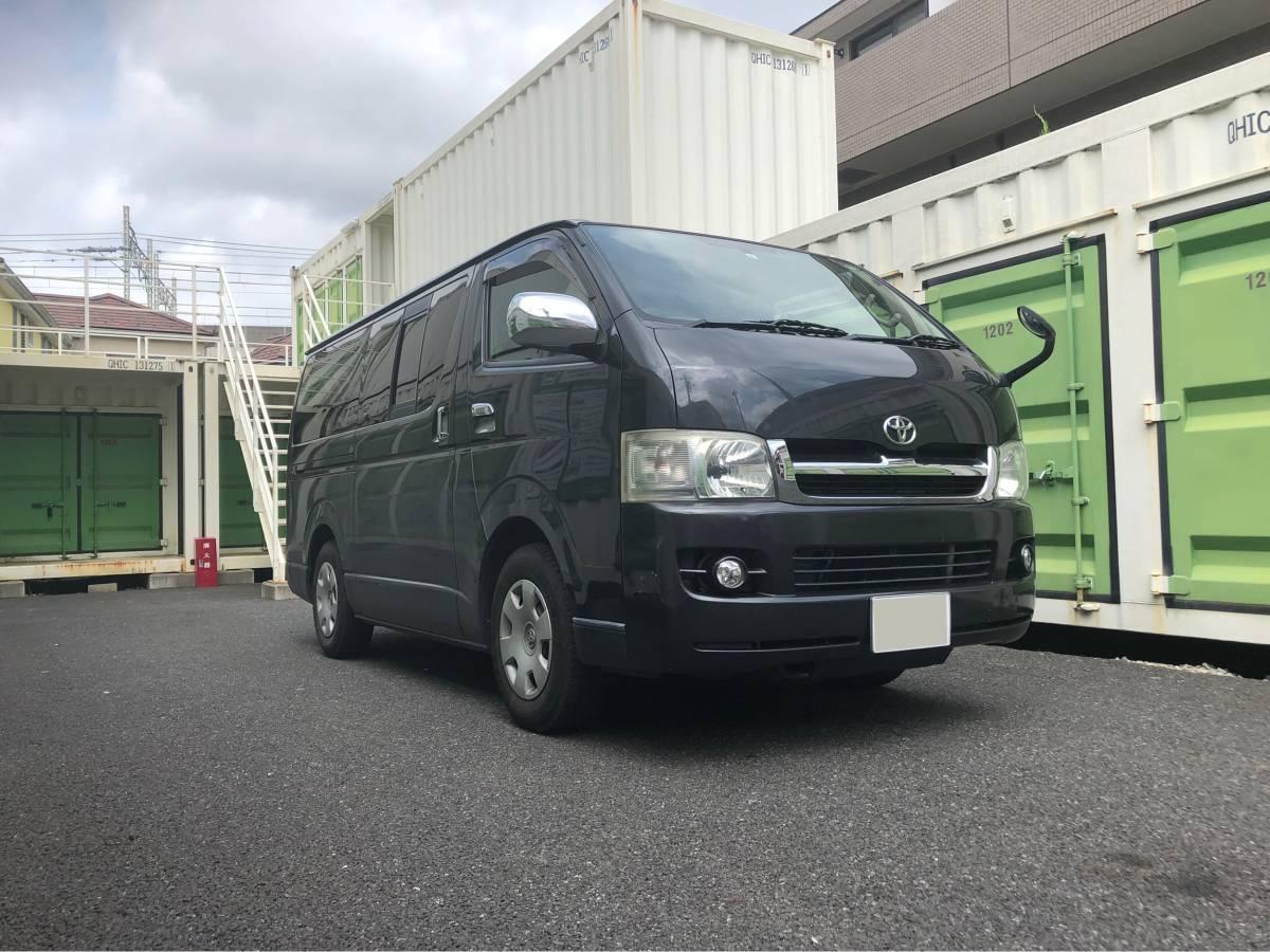「トヨタ ハイエース スーパーGL 車検有り 200型 ガソリン車」の画像3