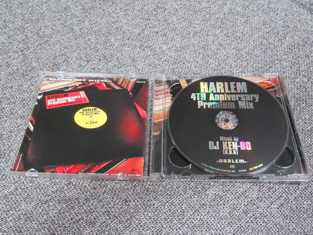 ★送料無料★ HARLEM 4TH Anniversary Premium Mix CD DJ KEN-BO U.B.G ハーレム 4周年記念 ケンボー HIP HOP R&B KIYO MISSIE HASEBE MURO