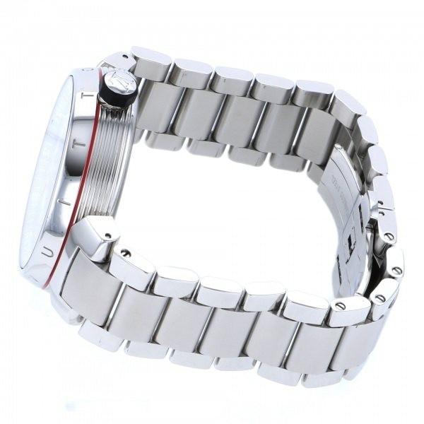 ルイ・ヴィトン LOUIS VUITTON タンブール グラフィット GMT Q1D30 グレー文字盤 中古 腕時計 メンズ_画像3