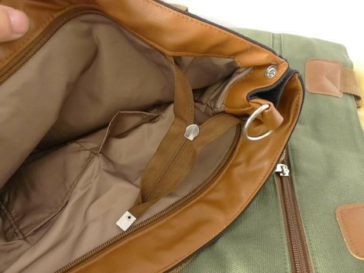 トートバッグ 2way ショルダーバッグ レディース メンズ A4 大容量 帆布 キャンパス バッグ ハンドバッグ ファスナー