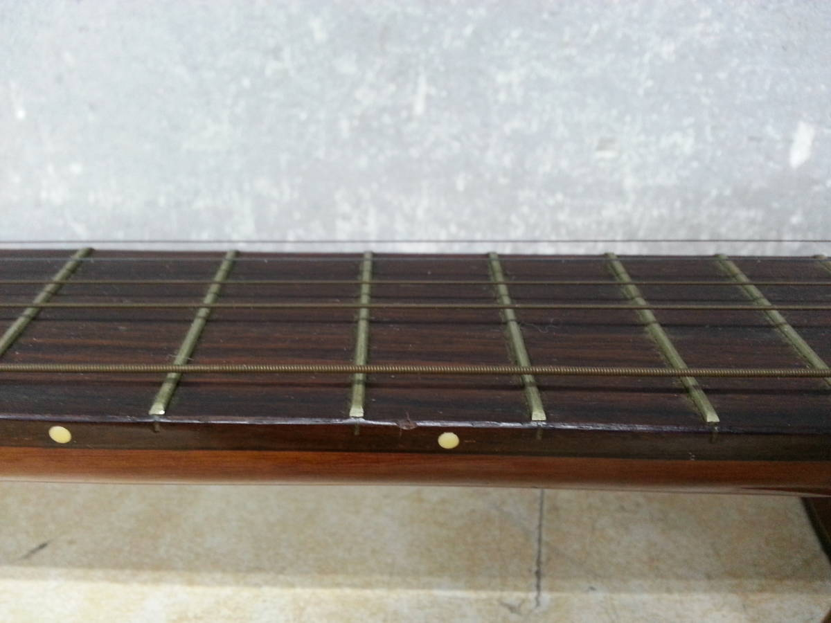 6IN1393 SUZUKI 鈴木バイオリン クラシックギター No.35 弦楽器 ジャンク iI0715_画像6