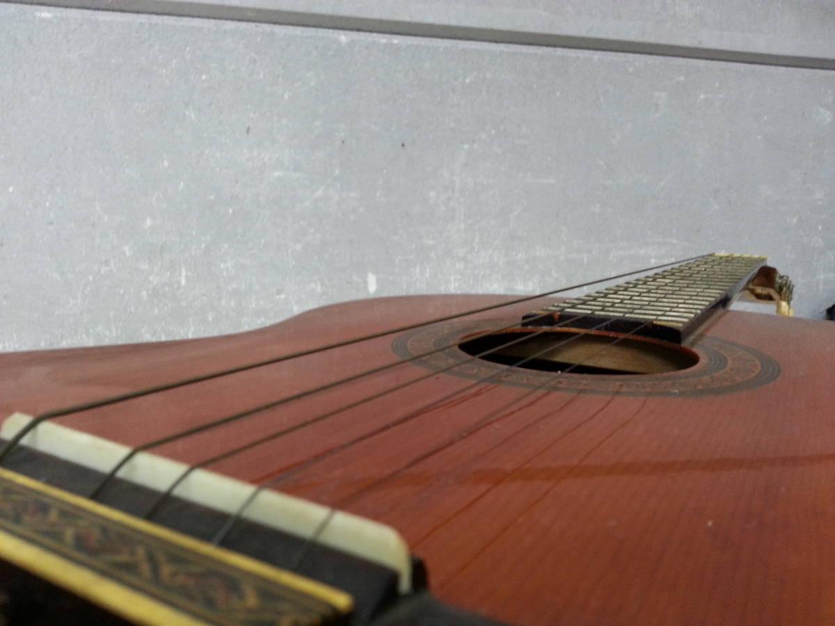6IN1393 SUZUKI 鈴木バイオリン クラシックギター No.35 弦楽器 ジャンク iI0715_画像7
