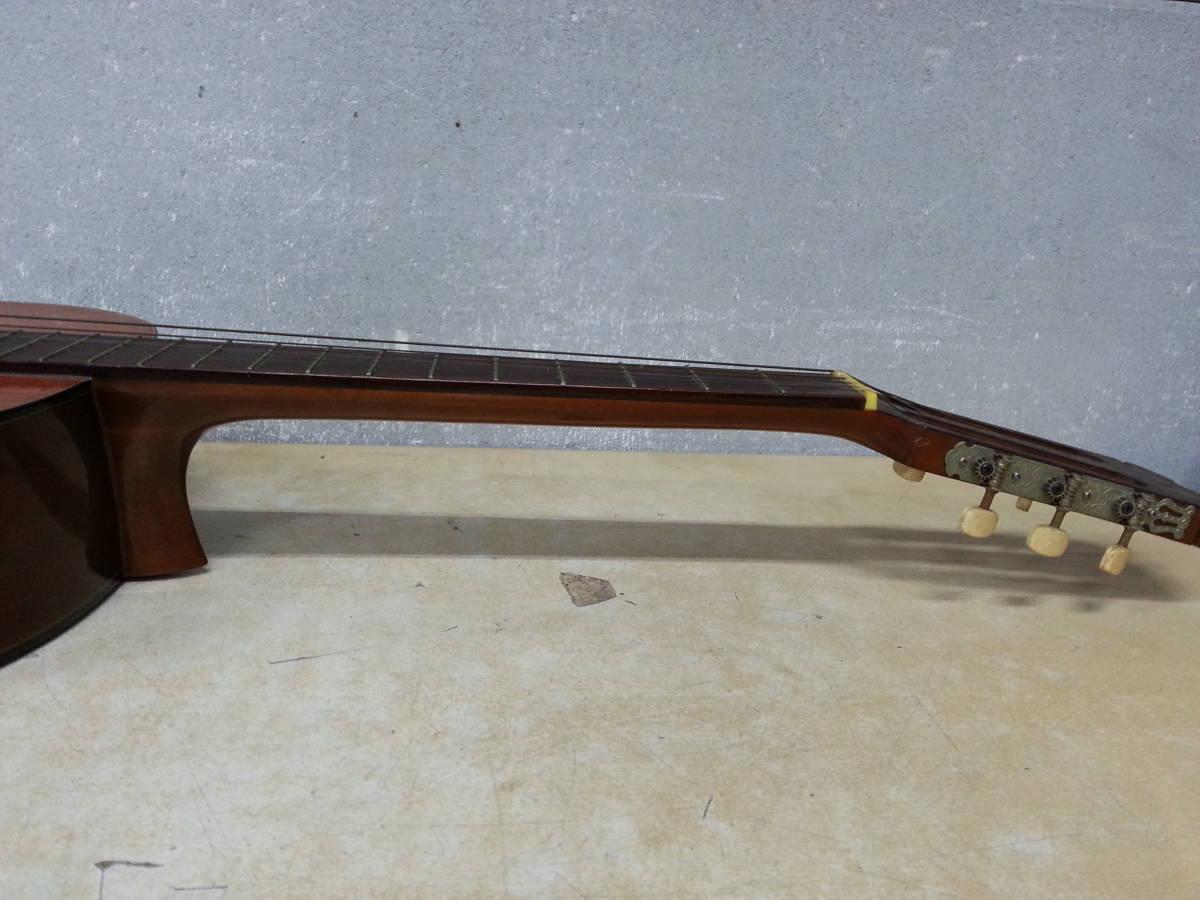 6IN1393 SUZUKI 鈴木バイオリン クラシックギター No.35 弦楽器 ジャンク iI0715_画像8