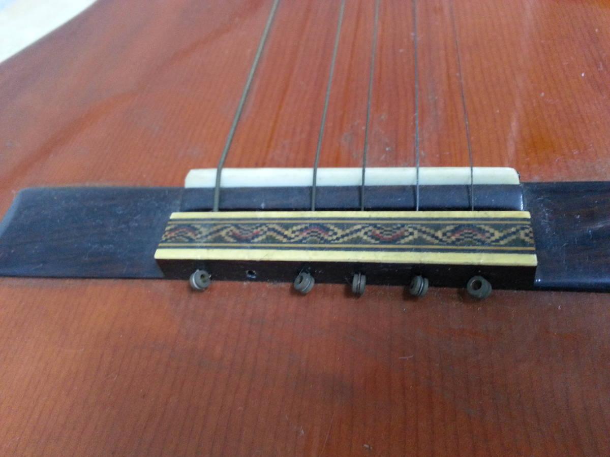 6IN1393 SUZUKI 鈴木バイオリン クラシックギター No.35 弦楽器 ジャンク iI0715_画像10