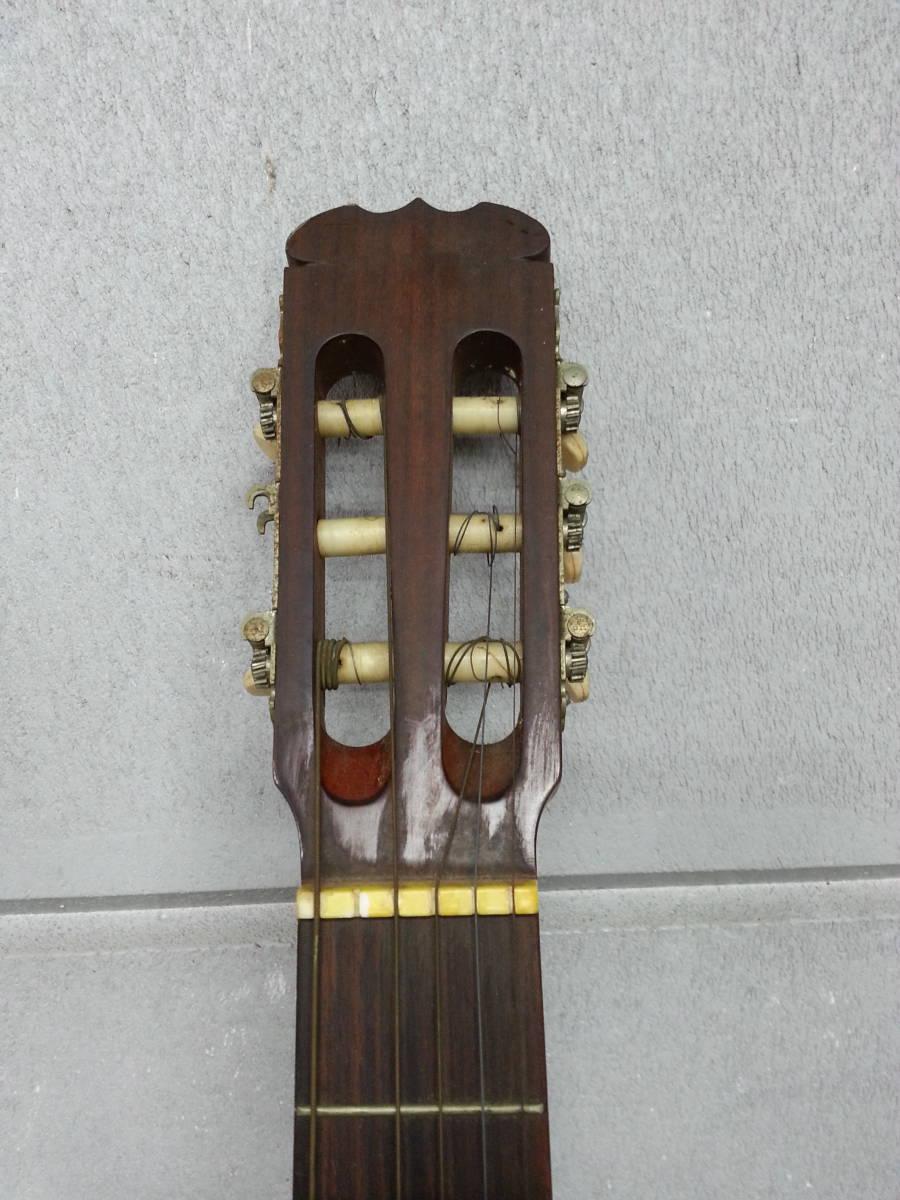 6IN1393 SUZUKI 鈴木バイオリン クラシックギター No.35 弦楽器 ジャンク iI0715_画像2