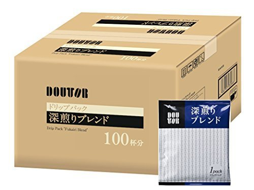 新品 100PX1箱 ドトールコーヒー ドリップパック 深煎りブレンド100PPLJG_画像7