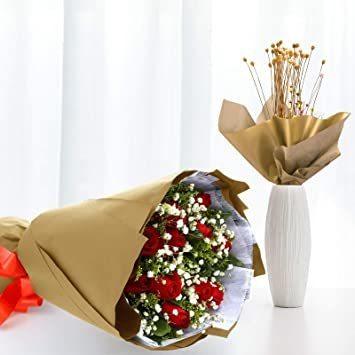 新品ゴールド NALER クリスマス ラッピング ペーパー ゴールド ギフト 包装紙 38x50cm 薄葉紙 約60FXCS_画像5