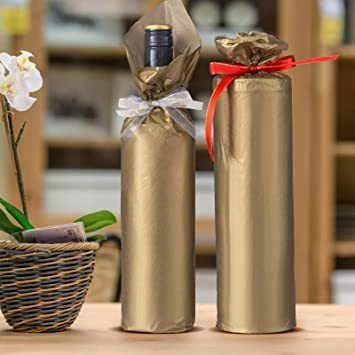 新品ゴールド NALER クリスマス ラッピング ペーパー ゴールド ギフト 包装紙 38x50cm 薄葉紙 約60FXCS_画像7