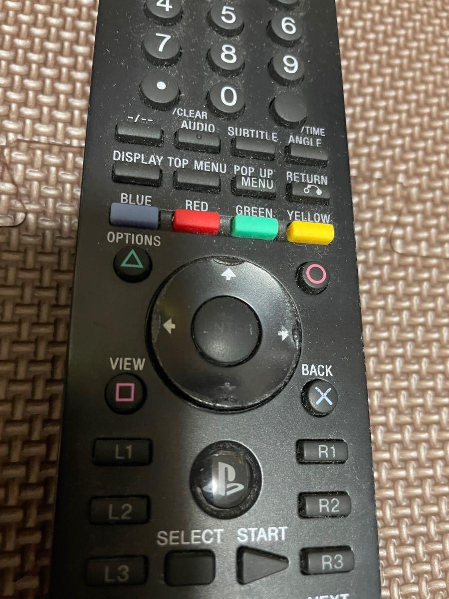 SONY PlayStation3 純正品 リモコン