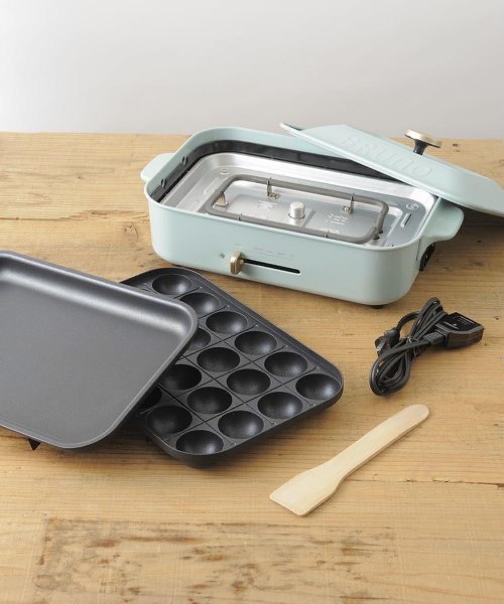 BRUNO BOE021-WH ホットプレート たこ焼き器 グリル 鍋BRUNO たこ焼きプレート たこ焼き器 BOE021