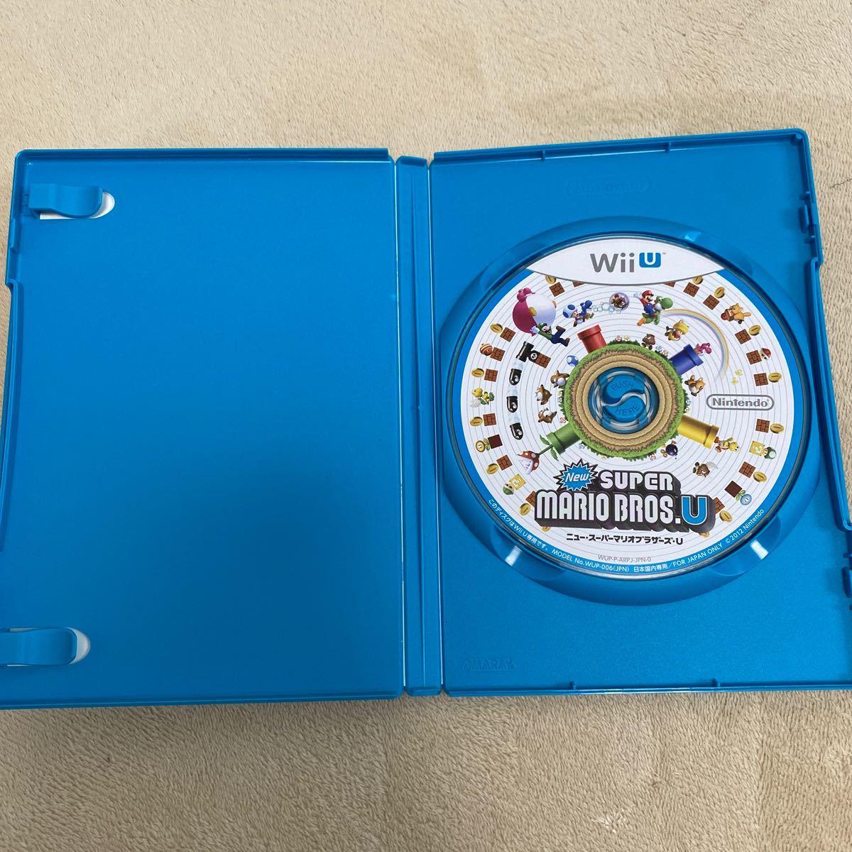 WiiU NewスーパーマリオブラザーズU ソフト ニュースーパーマリオブラザーズU