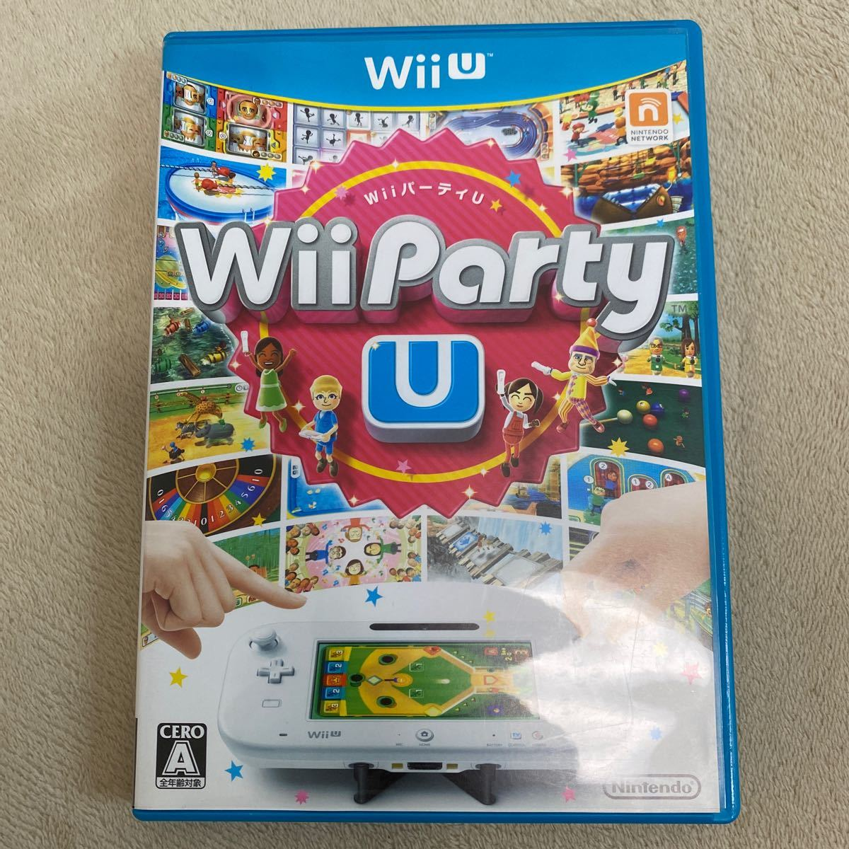 WiiパーティU Wii Party U WiiU ソフト 任天堂 Wii Party