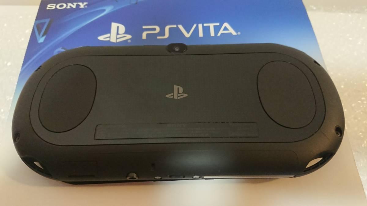 【PS Vita PCH-2000 ZA11 ブラック(30年5月購入品)】 専用メモリーカード16GB 保護ケース付き
