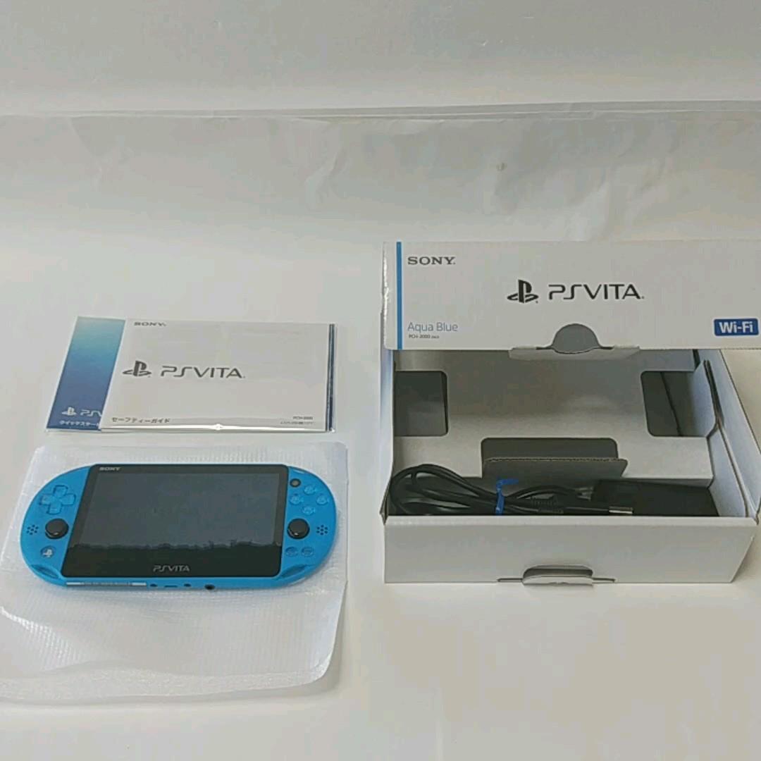 PlayStation Vita Wi-Fiモデル PCH-2000