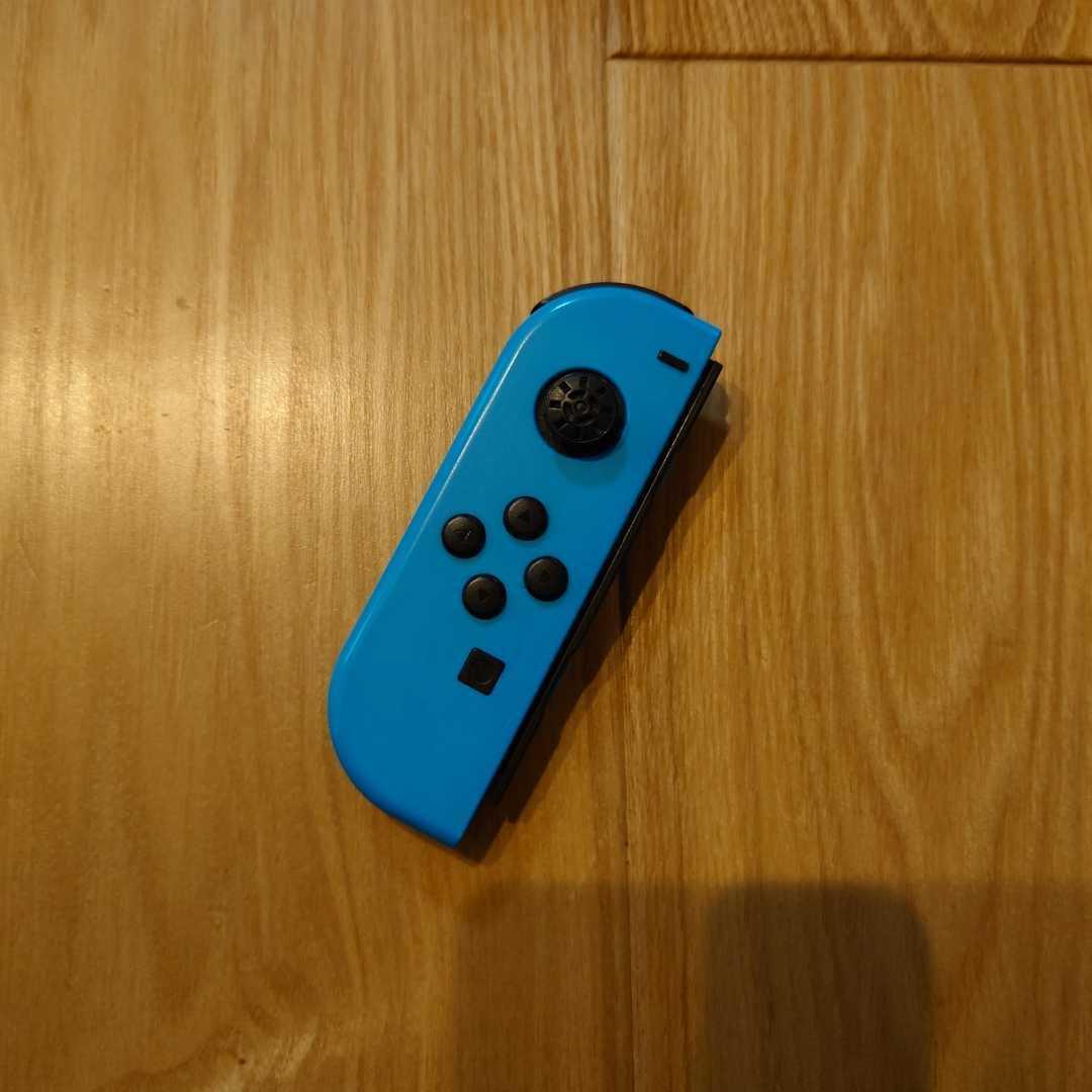 ジャンク Nintendo Switch Joy-Con (L) ジョイコン ネオンブルー 左