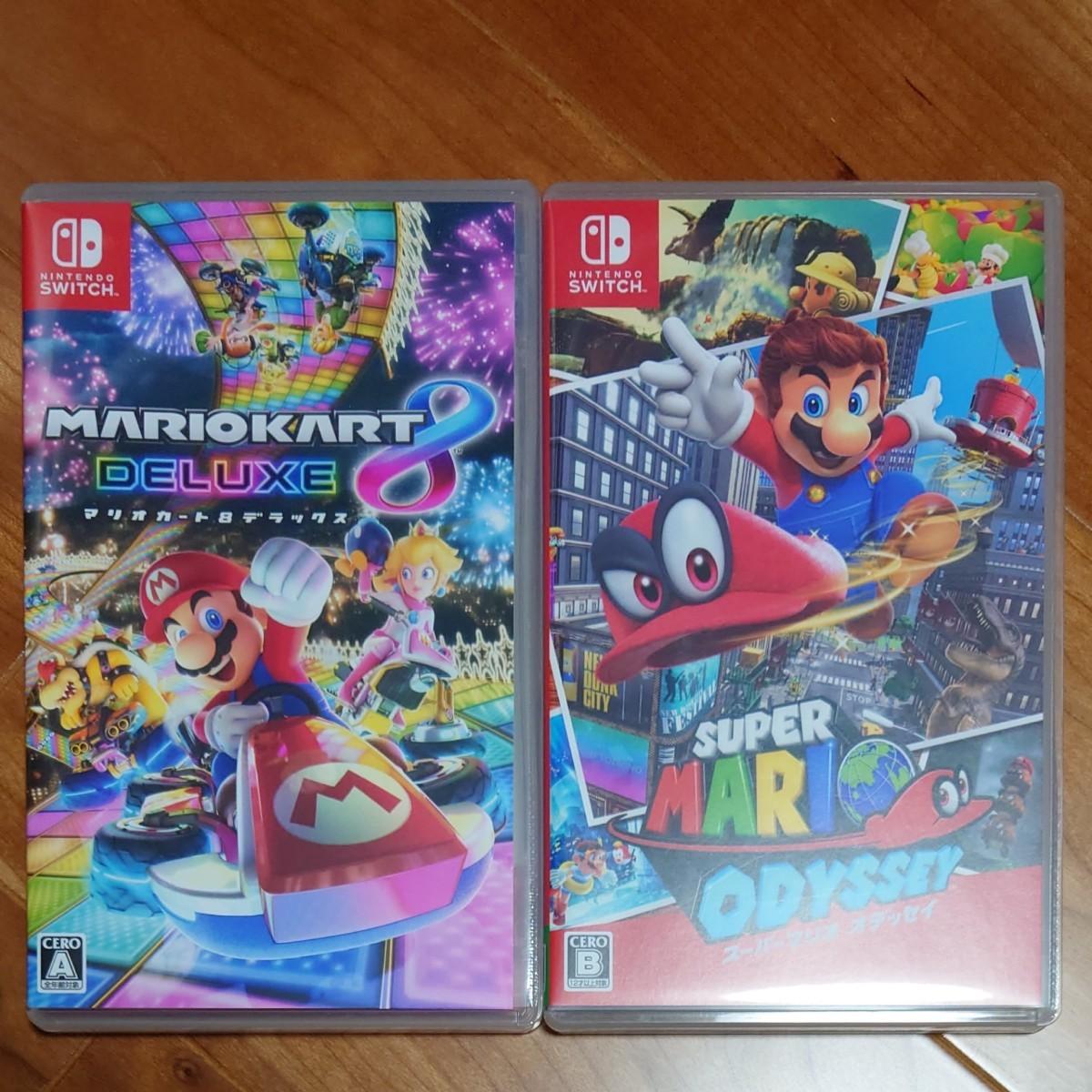 Nintendo Switch マリオカート8デラックス スーパーマリオオデッセイ セット