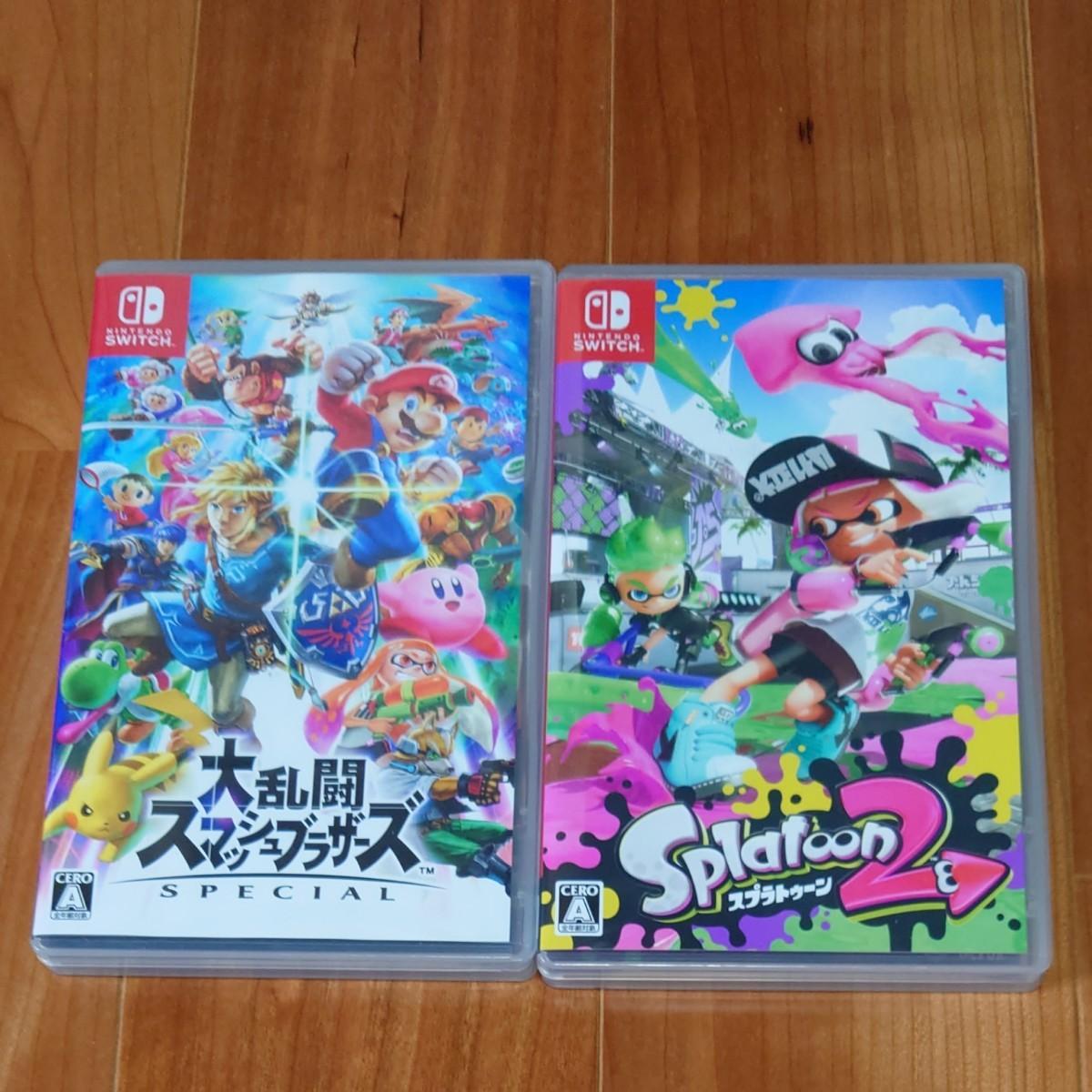 Nintendo Switch 大乱闘スマッシュブラザーズSPECIAL スプラトゥーン2 セット