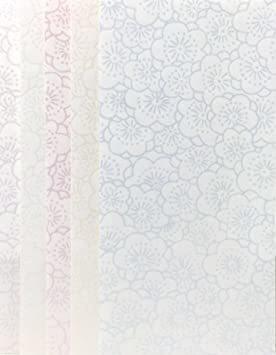 梅 封筒型万円袋 【Amazon.co.jp 限定】和紙かわ澄 きら染め和紙金封 9×18.5㎝ 封筒型万円袋 梅 _画像1