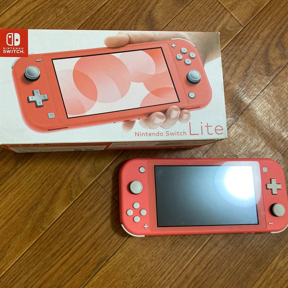 switch 桃太郎電鉄カセット付 コーラルピンク