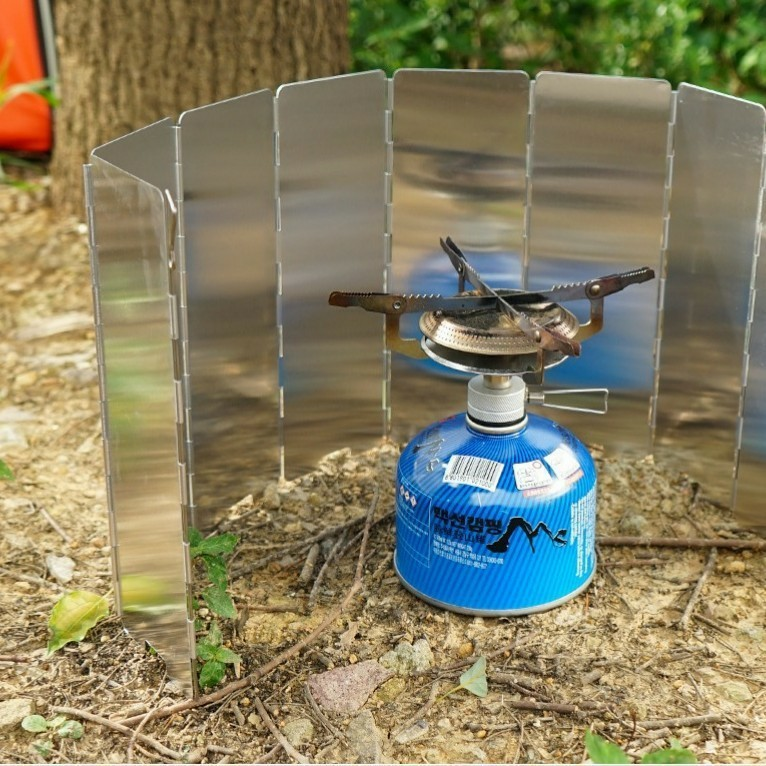 ウィンドスクリーン ウインドシールド キャンプ アウトドア 焚火 バーベキュー 風よけ 防風 風防板 BBQ グリル 登山 パネル