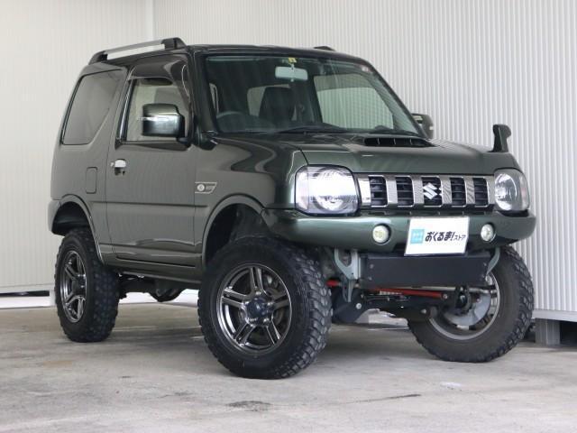 「ジムニーランドベンチャー 4WD ターボ リフトUP ルーフ」の画像1