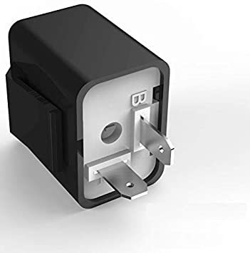 「IC ウインカーリレー LED フラッシャー 点滅回数調整機能付き ウィンカーランプ フラッシュリレー 点滅 フラッシャーリレー」の画像1