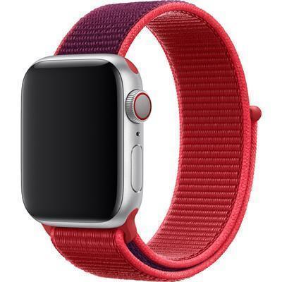 【送料無料】新品未開封品 Apple Watch純正品バンド 38mm/40mmケース用 レッドスポーツループ MXHV2FE/A アップル正規品 交換用ベルト_画像1