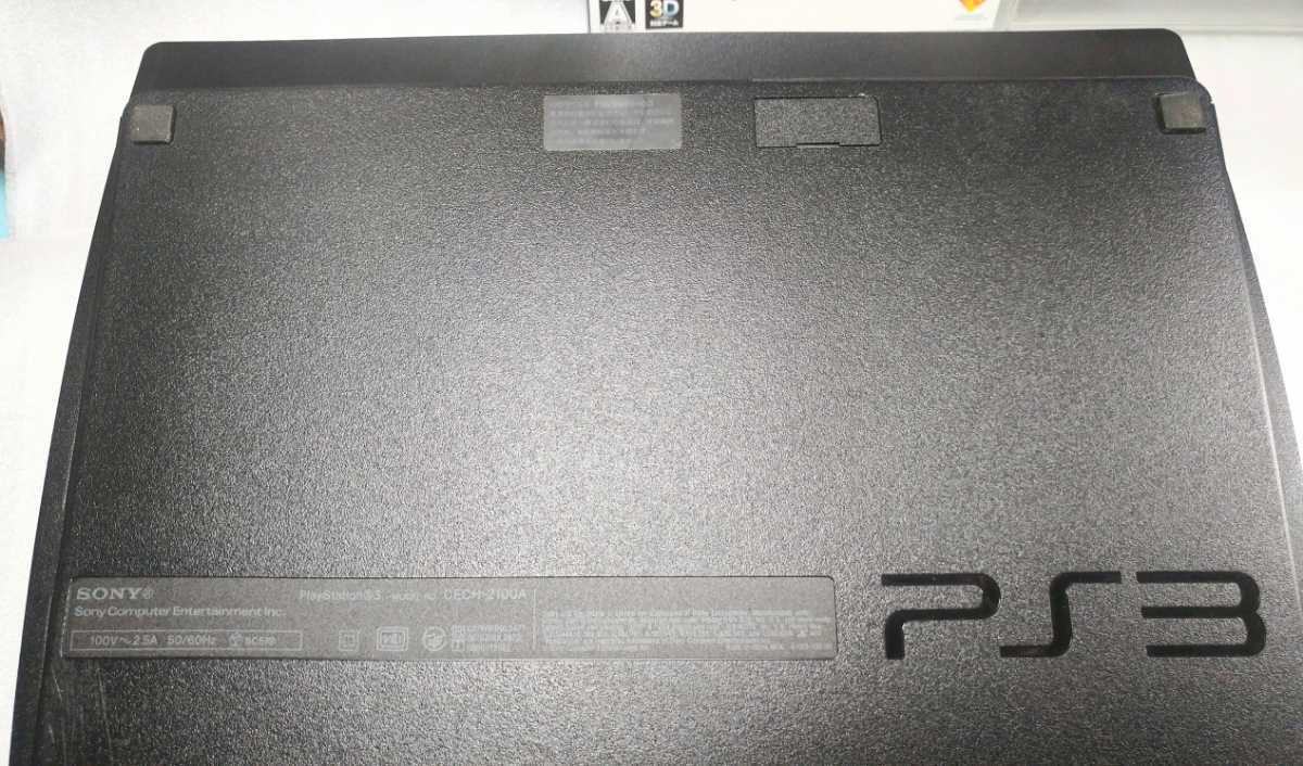 ★ソフトセット・爆速!! PS3 SONY PlayStation 3 (240GB) チャコール・ブラック CECH-2100A PS3本体 SONY プレステ3 SSD換装★