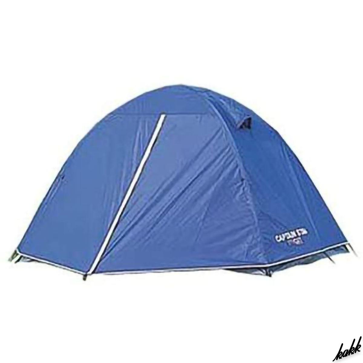 【コンパクト収納ツーリングテント】 ドーム型 テント 通気性 結露防止 ソロ ツーリング アウトドア レジャー キャンプ ブルー
