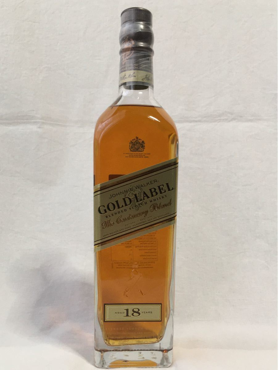ブレンデッド ウイスキー シーバスリーガル18年&ジョニーウォーカー ゴールドラベル18年(終売品) 2本セット