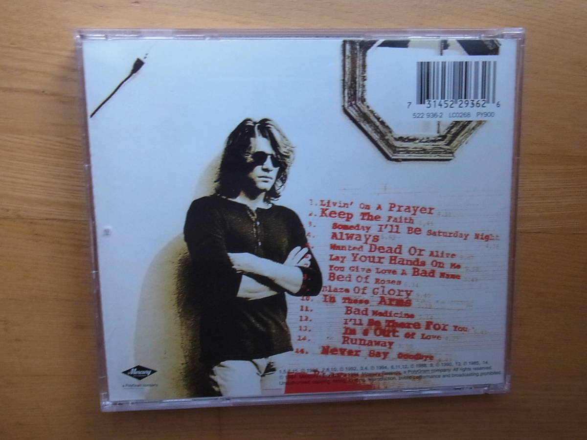 CD The Best Of BON JOVI CROSS ROAD REMASTERS 輸入盤