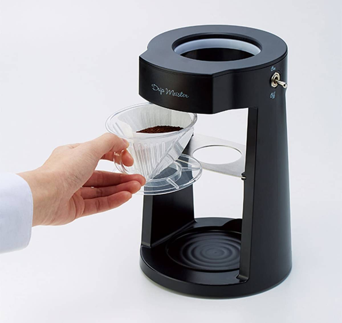 新品 送料無料 メーカー保証有 アピックス APIX Drip Meister ドリップマスター コーヒーメーカー ホワイト 白 ADM-200-WH ハンドドリップ