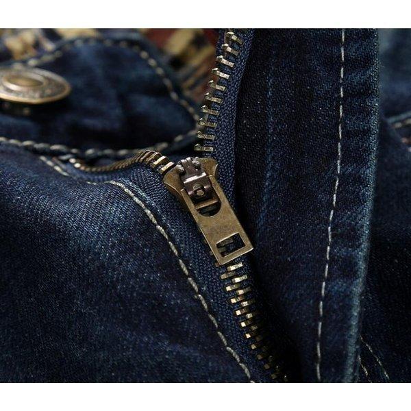 デニムパンツメンズジーンズ大きいサイズ ジーンズメンズスキニーパンツデニムパンツメンズジーパンロングカジュアルJEANSウォッ
