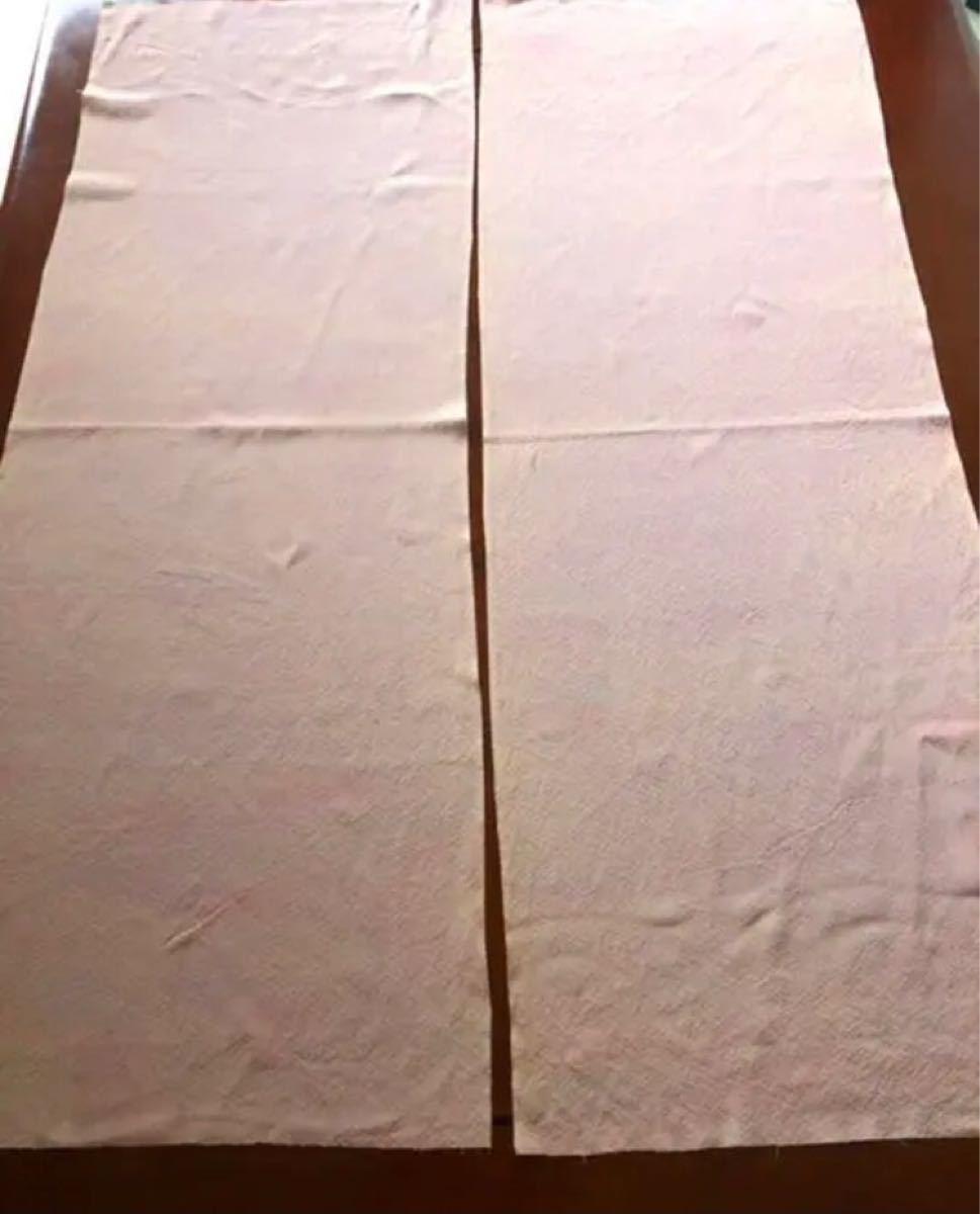 リメイク素材 ハギレ 着物 羽織ほどきかけ 正絹 (2)